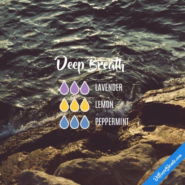 Deep Breath - Essential Oil Diffuser Blend