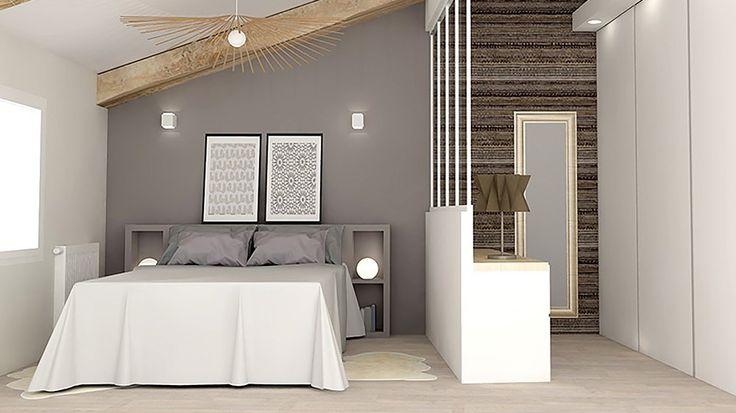 Une chambre à coucher pleine de charme