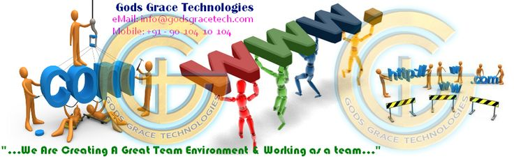 We are expertised in development tools like Web design and development,E-Commerce Applications,Content Management Solutions,Search Engine Optimisation,Mobile Applications,Creative Design,Web Business,Website Development.Our vision is to help organisations in an structured manner by providing quality outputs indirectly enabling the business to be an productive option.