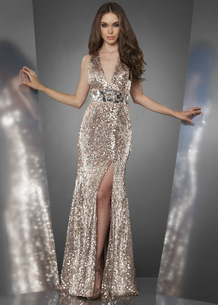 Metallic dresses pictures