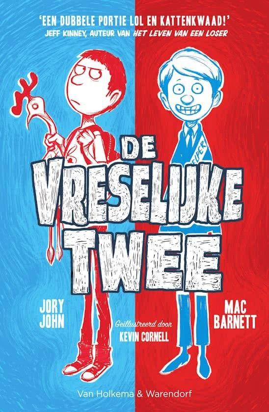 #boekperweek 3/52 Grappenmaken is een vak! En dat beoefenen deze twee jongens.