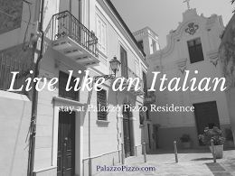 Live like an Italian - stay at Palazzo Pizzo Residence - be our guest!