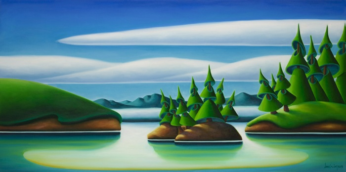 Dana Irving From Bowen Island 24x48