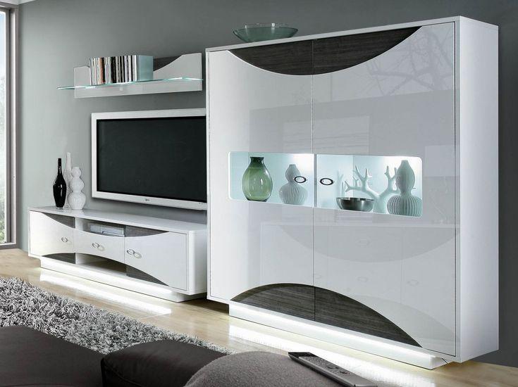 the 25+ best wohnwand weiss ideas on pinterest, Moderne