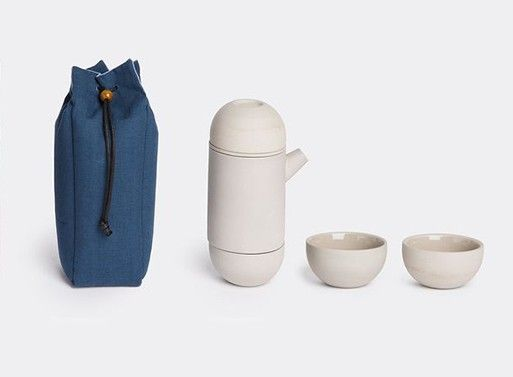 Travel Teapot Set and Bag — ACCESSORIES -- Better Living Through Design