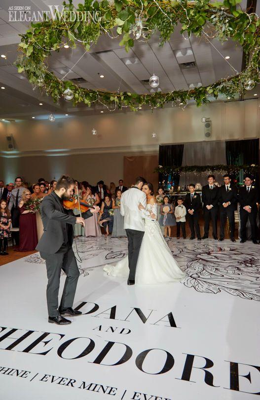 Floral Chandelier, Greenery Chandelier, Greenery Wedding Chandelier, Wedding Dance Floor Ideas #weddingdancefloor #dancefloor #greenery #floralchandelier