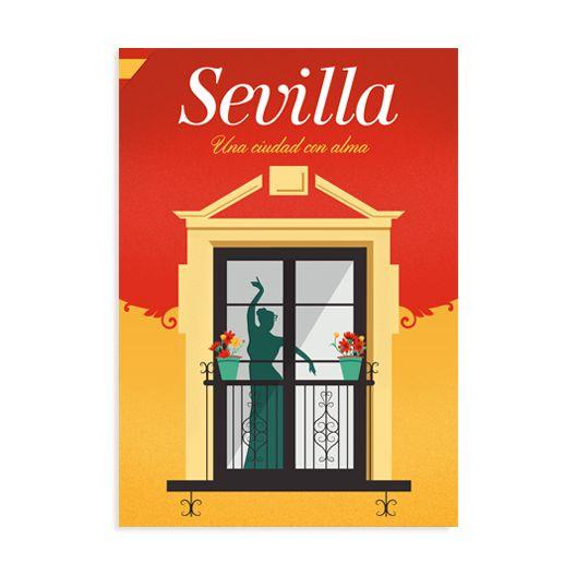 Mapa Sevilla, una ciudad con alma.