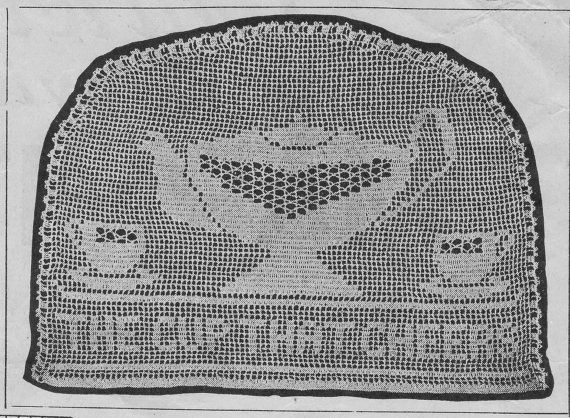 2100 best mami images on pinterest embroidery blinds and crochet crochet pdf 1927 art deco vintage crochet pattern crochet tea pot cosy filet crochet 1920s downton abbey epattern rare pattern dt1010fo