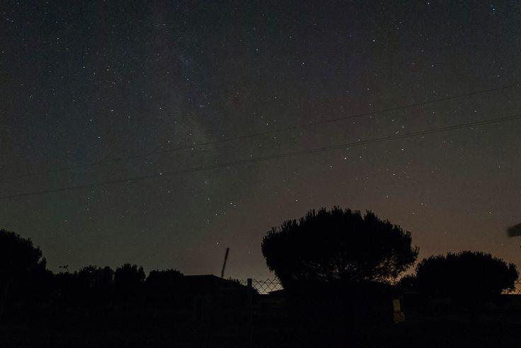 Constelación de Escorpio y Sagitario