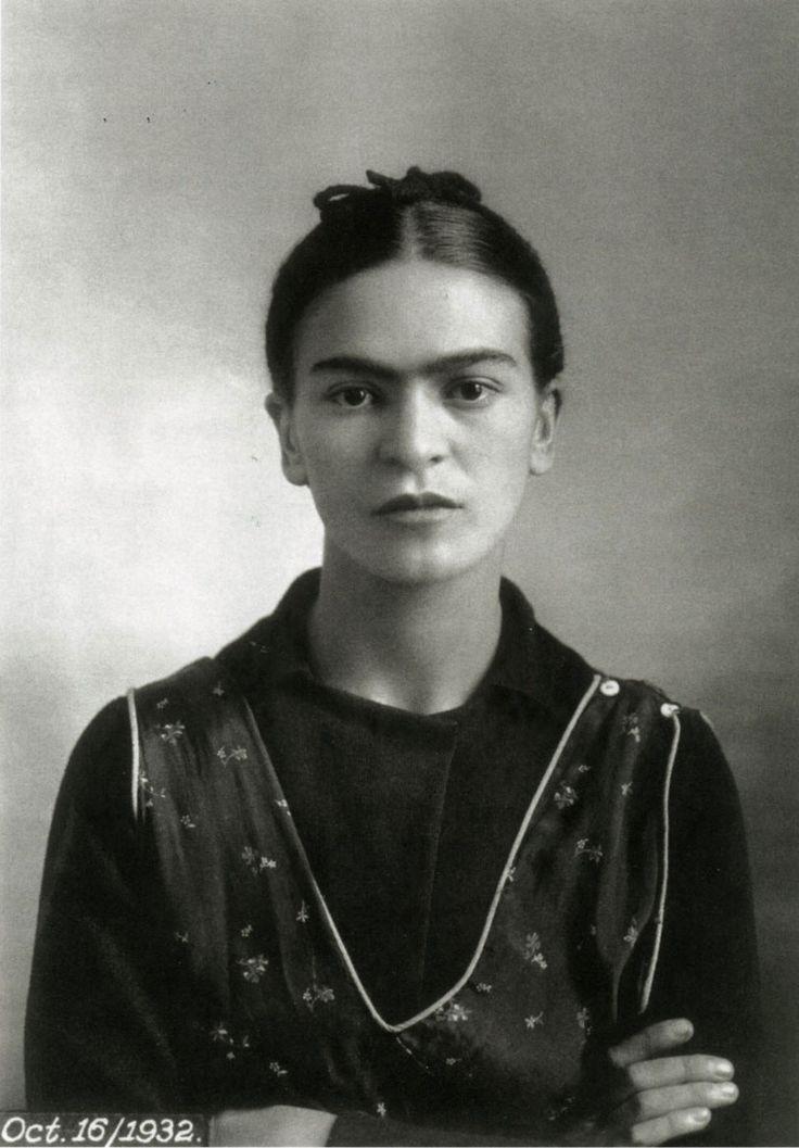 A young Frida Kahlo