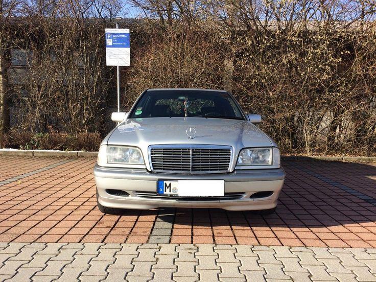 Mercedes C180 BJ1999 Klima Eisenmann Auspuff Hifonics Anlage  TÜV NEU 02.2020
