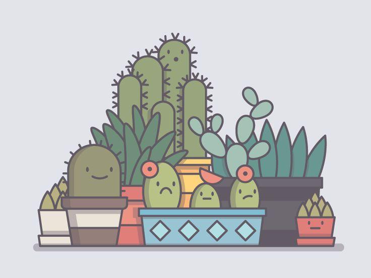 Succulent Emoji
