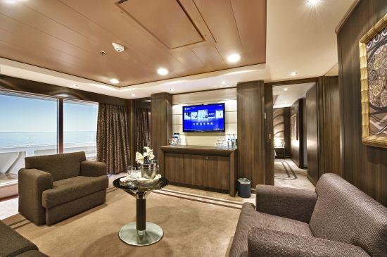 #MSCKreuzfahrten #MSCYachtClub #Luxus #Suite