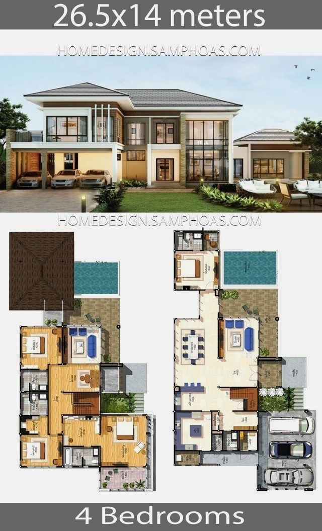 Pin By Laina Nelson On Modern House Ideas In 2020 House Plans Mansion Modern House Plans House Layout Plans