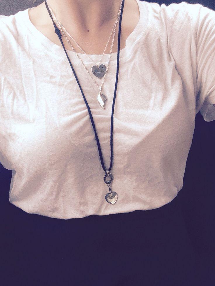necklaces // silver