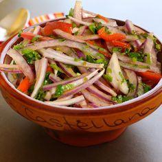 Peruvian Salsa Criolla Recipe. Find more Peruvian recipes at http://www.perualacarte.com