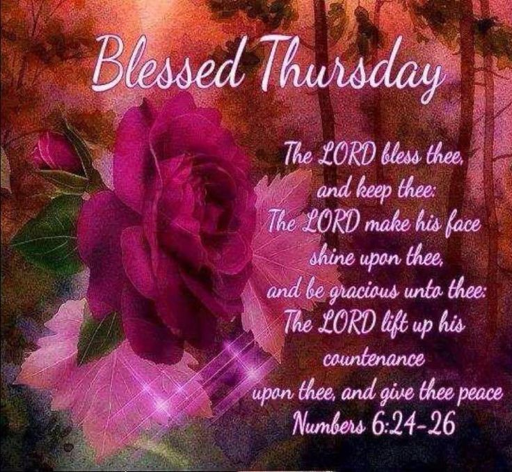 Pin by Dr. Anita (The Dailey Mentor) on Thursday ...  |Thursday Prayers From The Heart