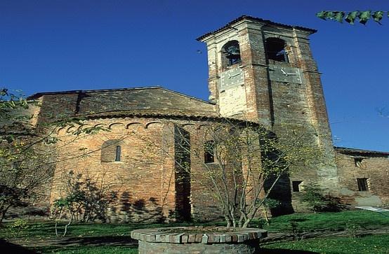 Quistello, loc Nuvolato, Chiesa di San Fiorentino #Mantova #Mantua #Italia #Italy #colline #moreniche #hills #morainic