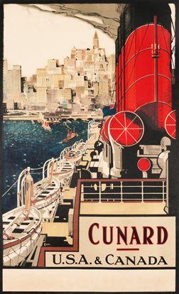 Frank H. Mason, Cunard USA & Canada, c. 1920