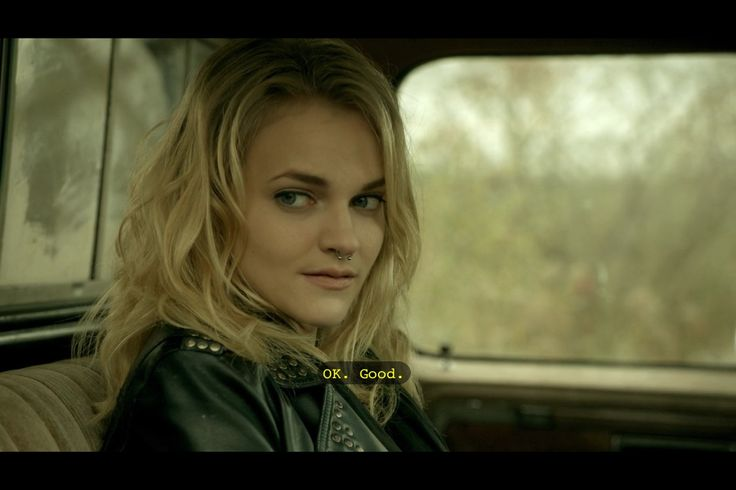 Madeline Brewer as Miranda in Hemlock Grove