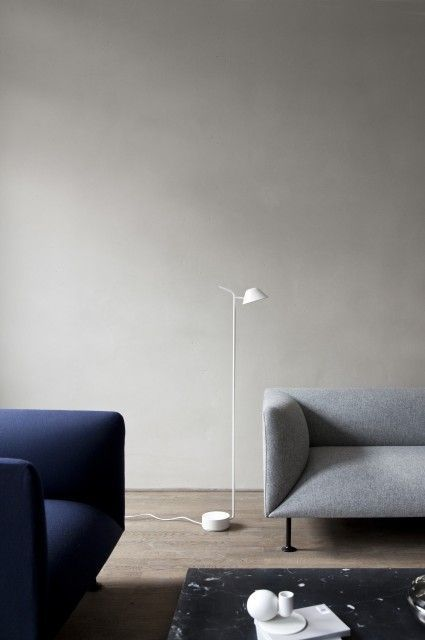 MENU | Godot Sofa, Low Plinth and the Peek Floor Lamp