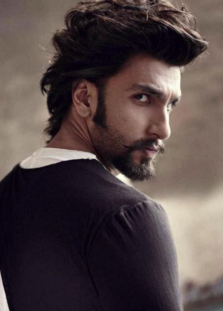 Ranveer Singh - The moustache, beard and the hairstyle make him look so good!