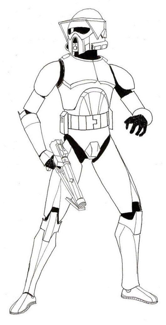 Clone Trooper Armor Coloring Sheets Clone Trooper Armor Star Wars Clone Wars Star Wars Drawings