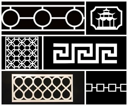 Update your furniture with easily applied fretwork panels  www.SeasonsBlog.com