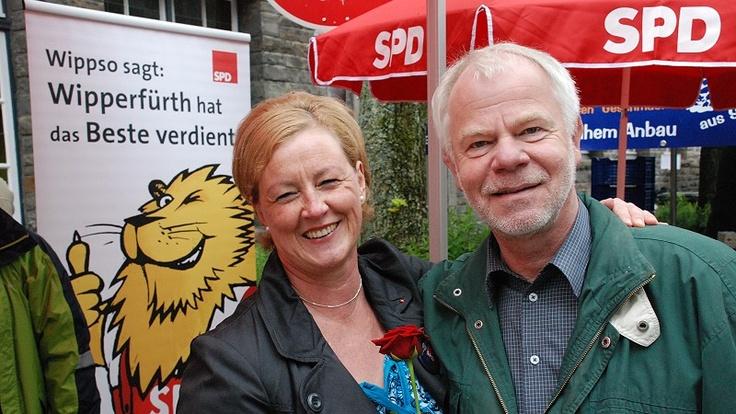 Wahlkampf in Wipperfürth mit Hannelore Kraft