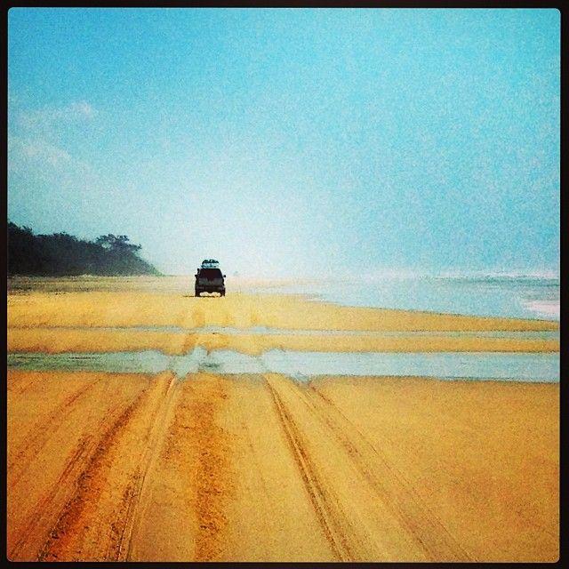 Oneindige zandvlaktes