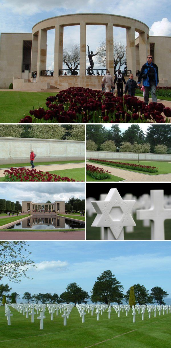 Visit D-Day Beaches in Normandy :: American WWII Cemetery in Normandy