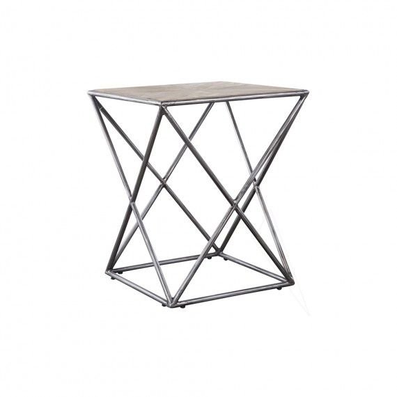 LIMA SIDE TABLE DRESSED BLEACHED - New Arrivals - HD Buttercup Online – No Ordinary Furniture Store – Los Angeles & San Francisco