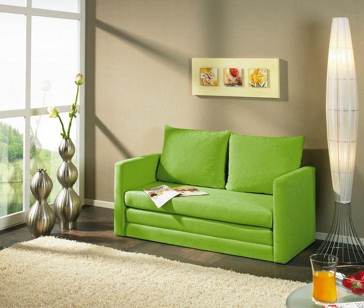 Schlafsofa jugendzimmer grün  Die besten 25+ Schlafsofa grün Ideen auf Pinterest | Couch grün ...