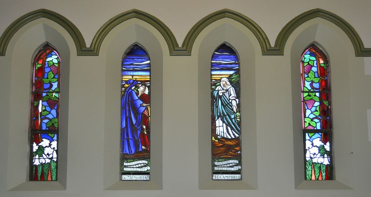 Stained glass windows were often used to illustrate Biblical stories. This one is from the Book of Ruth. Visit the Albert Street Uniting Church, Brisbane to find out more about our windows and the stories they tell.