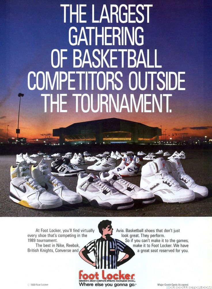 Take Flight: Bring Back The 1989 Nike Air Flight & Solo Flight!