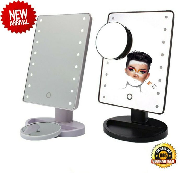 James Charles 2019 Makeup Mirror Portable 16 Led Lighted