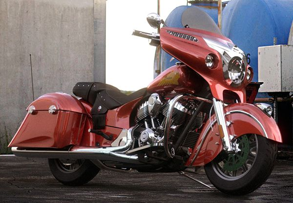 Indian Chieftain Motorcycle on Behance