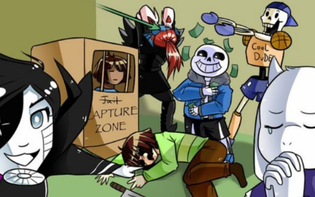 Draw the squad, undertale, sans, Papyrus, undyne the undying, mettaton NEO, toriel, Frisk, chara