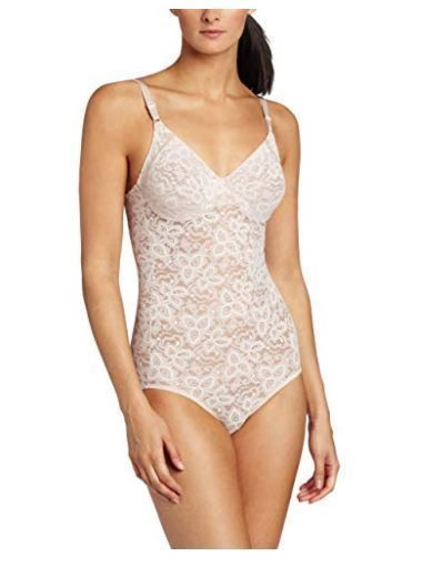 0054834be4d72 Bali Women s Shapewear Lace  N Smooth Body Briefer 40DD  fashion  clothing   shoes
