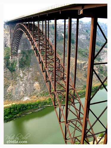 Perrine Bridge - Twin Falls, Idaho  ~ US Highway 93 crosses over Snake River Canyon