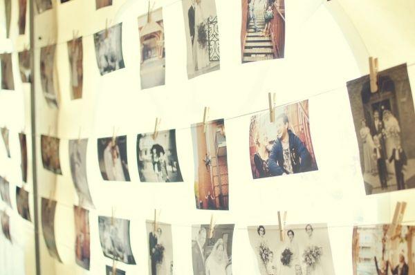 photo clothes line: Photo Display, Inspiration, Wedding Ideas, Family Photos, Photo Wall, Craft Ideas, Diy, Bedroom Ideas