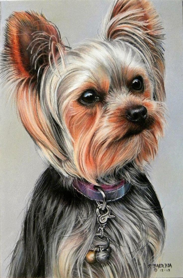3 Bp Blogspot Com Noh42j58bai Urs Kj4rj2i Aaaaaaaaa5o L0bgukyn5f4 S1600 Elle Jpg Yorkie Painting Dog Portraits Dog Art