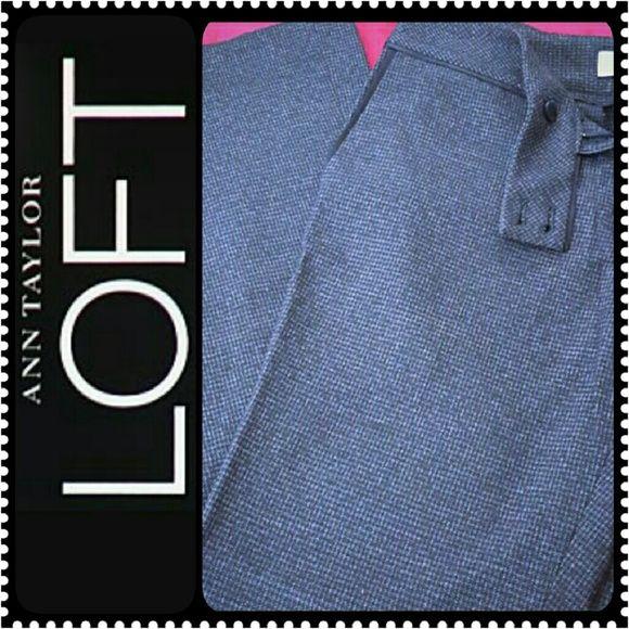 Ann Taylor LOFT Slacks Pants Ann Taylor Pants, Dark Grayish Shade, in Petite Size 6P Ann Style, Mint Condition Ann Taylor Pants