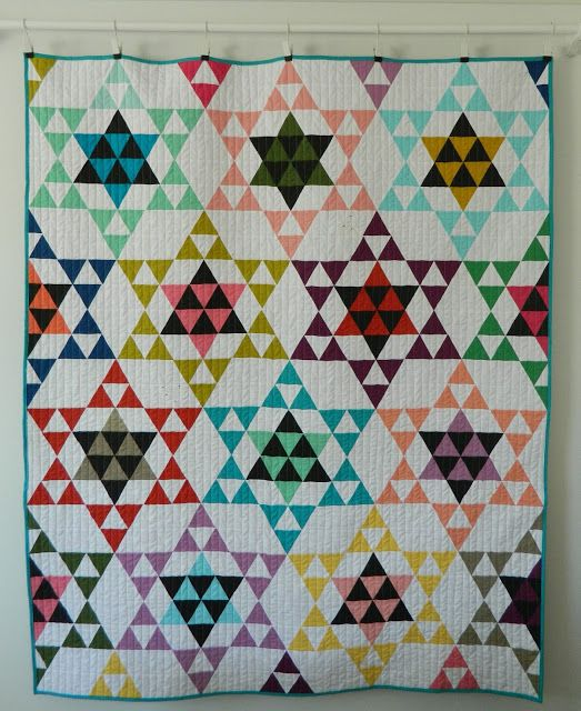 Hello, happy Friday to you all!     I have not just one, but TWO quilts to show you today. I know, a total overachiever here :). It wasn't...