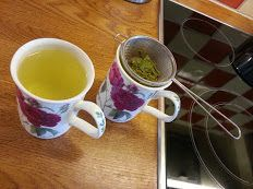 Te av bjørkeblader