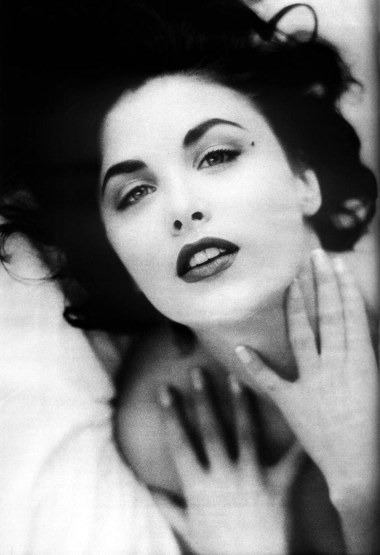 """80s90sthrowback: """" Sherylin Fenn photographed by Glenn Lemuel & Jean Baptiste Mondino for The Face, 1990. """""""