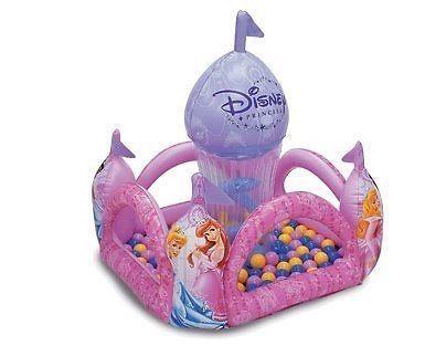 Disney Princess Swirl Ball Pit #Disney