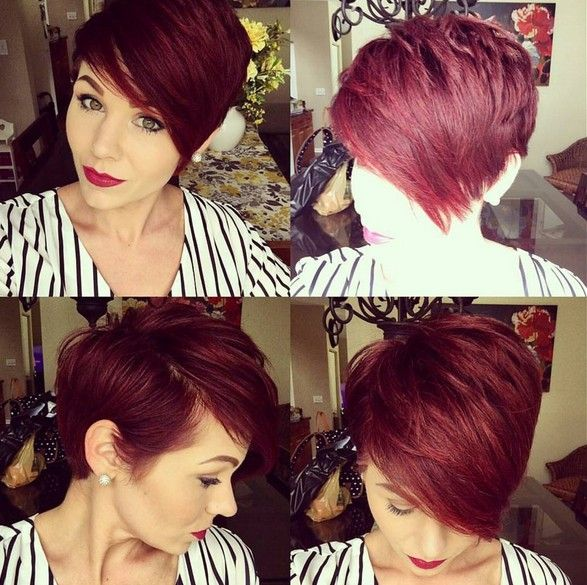 Short Summer Haircuts For Thick Hair : 407 best hair cuts images on pinterest