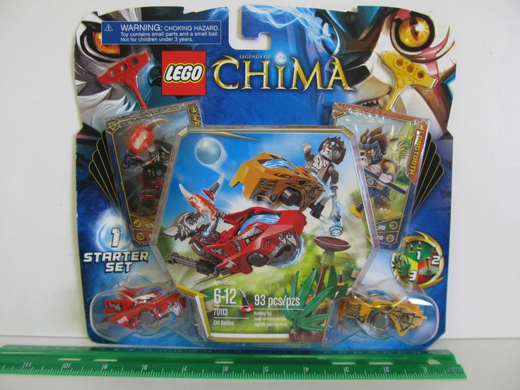 LEGO Legends of Chima #1 Starter Set - CHI Battles. Model # 70113. 93 piece set. Ages 6-12 years. Hit the tree and grab the CHI orb. Pull the rip cord and unleash the Speedor. I want you to be confident in the decision you are making. | eBay!