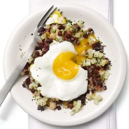 RECIPE: Red-Flannel Hash from Health Magazine — Looks like a tasty ...